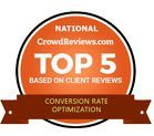 Conversion Rate Optimization Award - Top 5 in U.S.