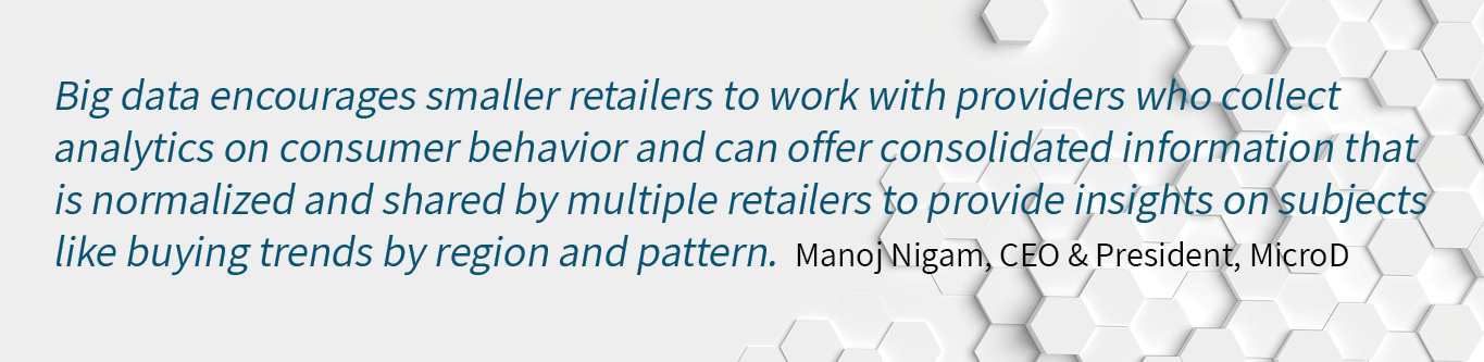 big data for retail quote