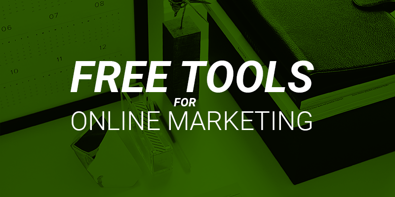 free online marketing tools for retailers