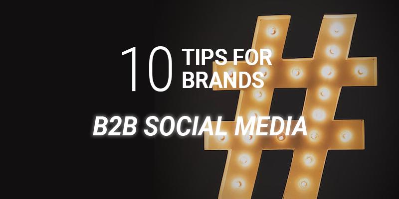 b2b social media tips