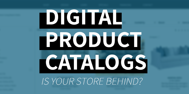 digital product catalog data for retail