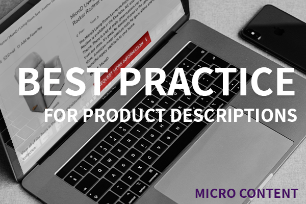 product description best practice
