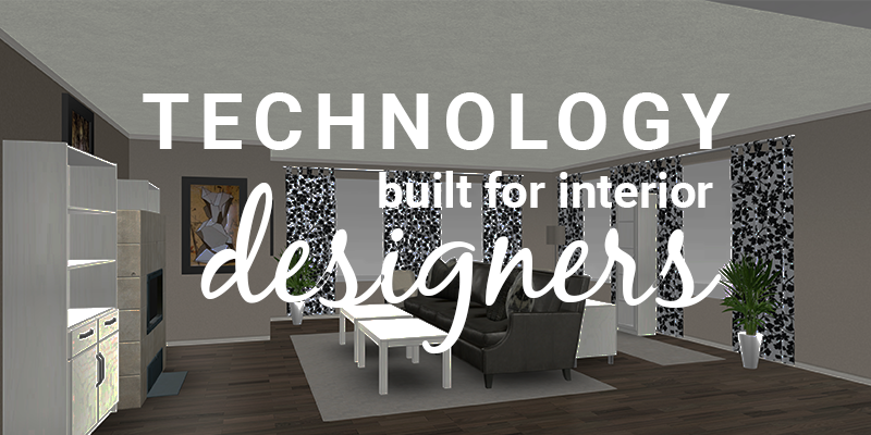 interior design technology in retail store