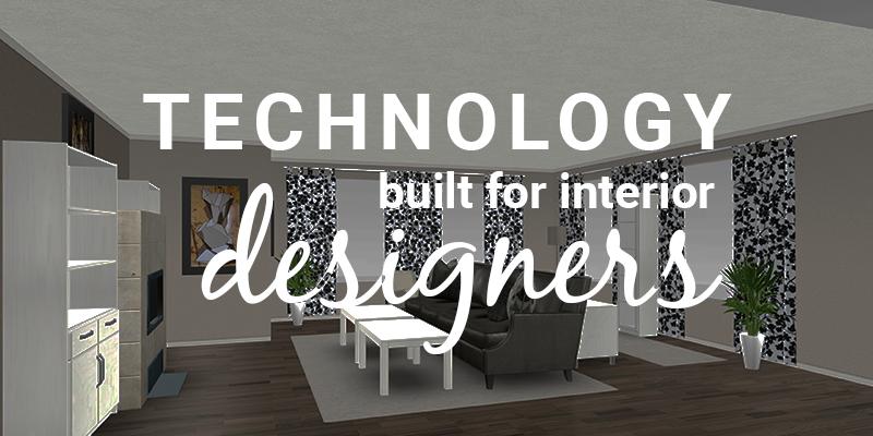 interior design technology in retail store