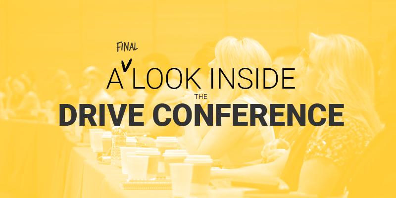 drive conference agenda