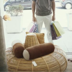 customer shopping virtually