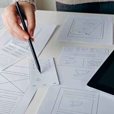 mobile furniture website design