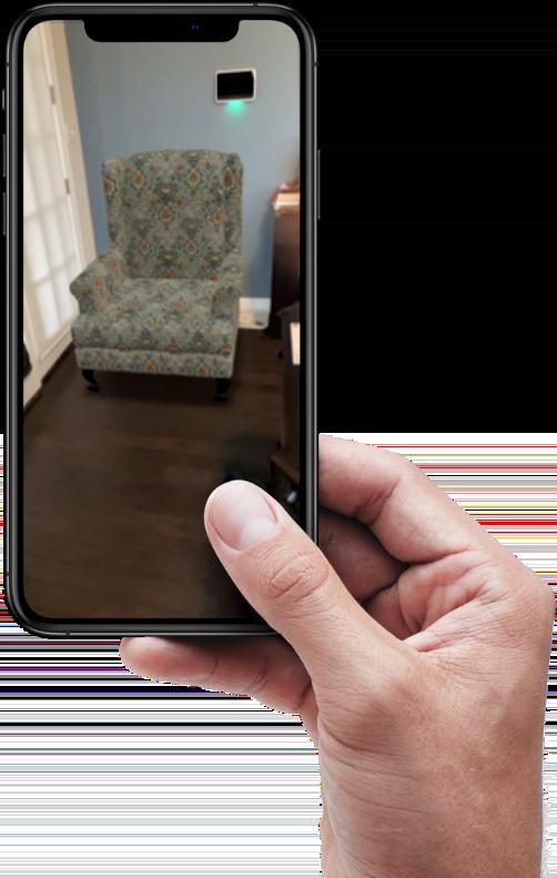 furniture visualization - augmented reality
