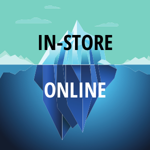 in-store - online experience