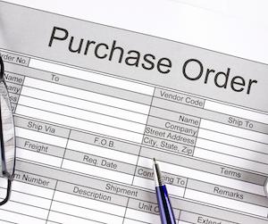 edi purchase order image